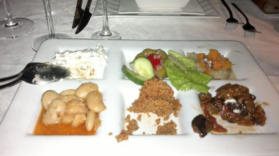 Imbat Restaurant: Starters