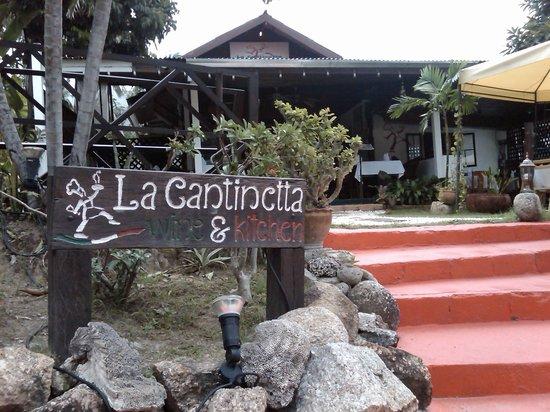 La Cantinetta Samui: ingresso