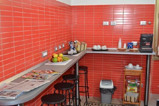 Domus Carmanello : Sala ristoro