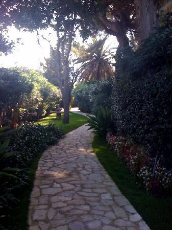 Hotel Imperial Garoupe : Garden path