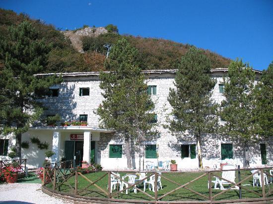 La Sibilla Parco Hotel: veduta esterna
