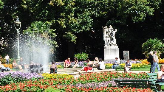 Parc du Thabor : Garden
