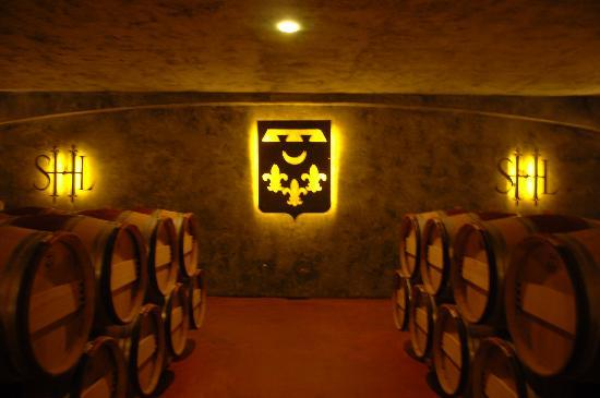 Chateau Smith Haut Lafitte: Wine Cellars