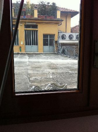 Hotel Savona : vista dalla camera