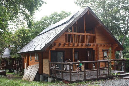 Log Pension Mori No Sanpo: 森の中の専用スペースといった感じの素晴らしい環境です。