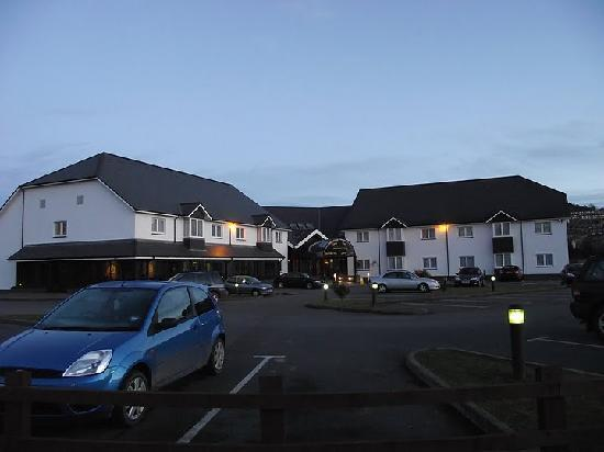 Aberystwyth Park Lodge Hotel: Front View of the hotel