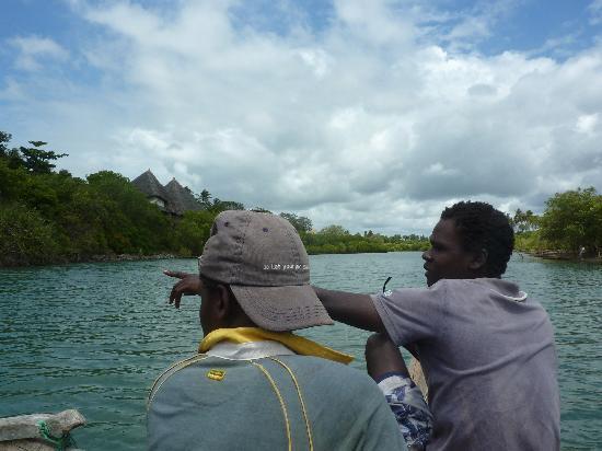 Diani Day Tours: Kongo river & village trip