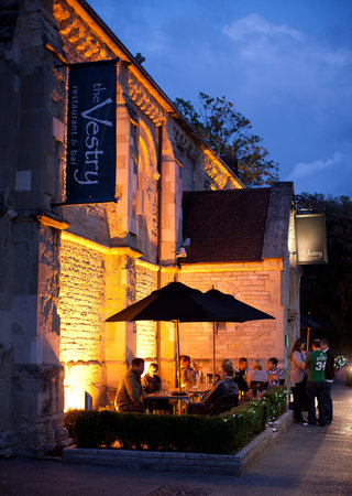 The Vestry Restaurant & Bar: Beautiful Vestry Exterior