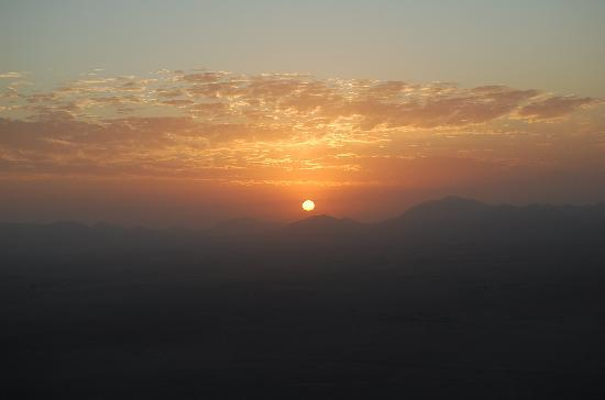 Marrakech By Air: Here comes the sun