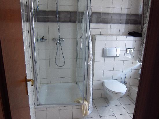 Hotel Handwerkerhaus: Spacious new bathroom