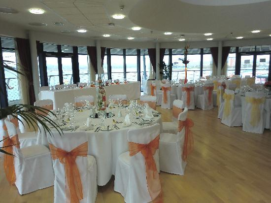 RNLI College: Wedding Breakfast - Harbour View Suite