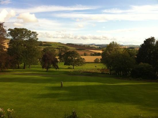 Craigsanquhar House Hotel : view from honeymoon suite