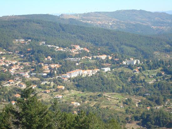 "Caramulo, Portugal: Overview of the valley from ""Cabeço de Neve"""