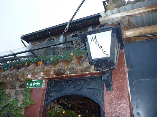 Cafe Mosaico: 入り口