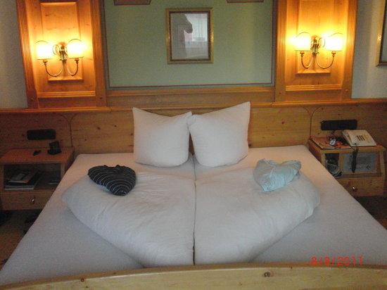 Hotel Schlosshof Ischgl: unser Zimmer