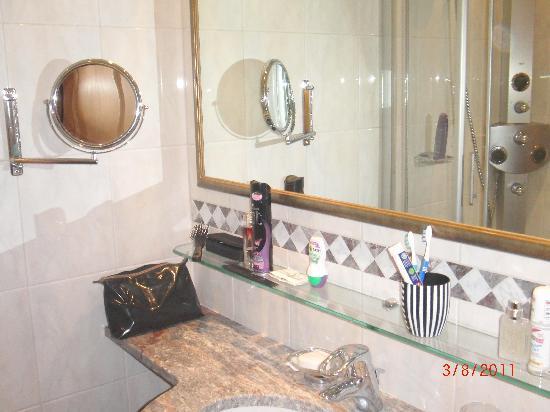 Hotel Schlosshof Ischgl: Badezimmer