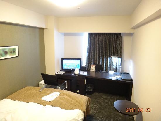 リッチモンドホテル青森, 部屋はきれいで広いです。
