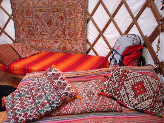 Larkhill Tipis and Yurts: Inside the Bentwood Yurt