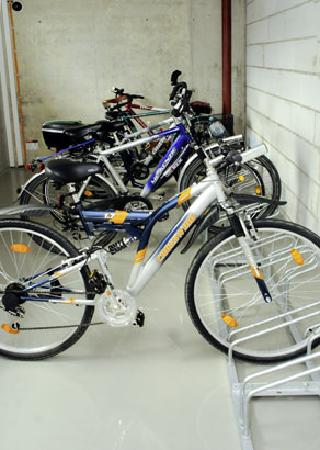 Ibis Budget Augsburg City: Fahrradraum