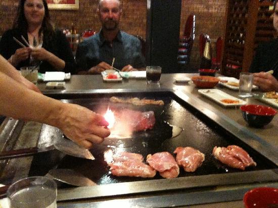 I Chi Ban Teppan-Yaki Japanese Bbq: Sizzling Meats