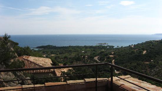 Les Terrasses de Scalegiu : vue de la terrasse