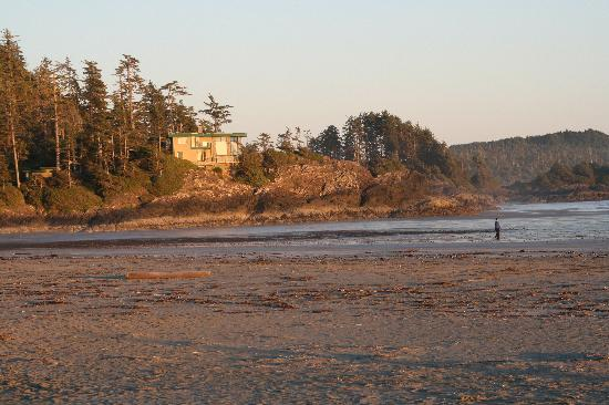 Chesterman Beach Bed and Breakfast: South View of Chesterman