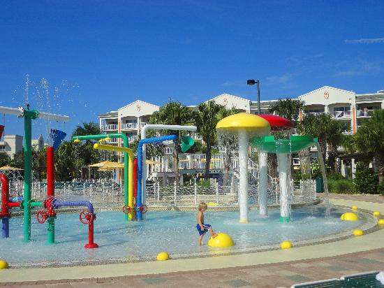 Holiday Inn Club Vacations Cape Canaveral Beach Resort Toddler Splash Pool Amazing