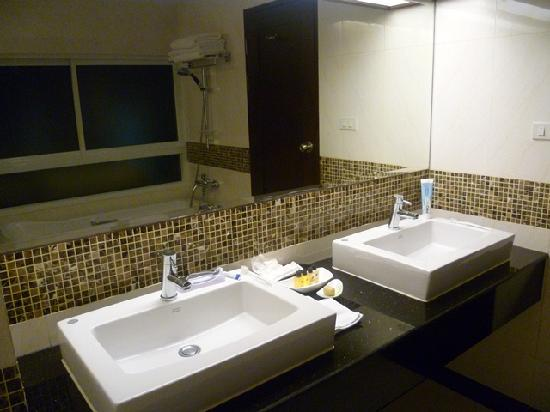 August Suites: His & her sinks
