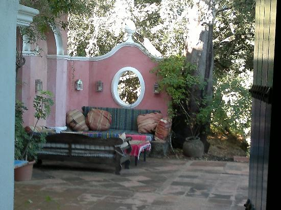 Finca Buen Vino: Terrace for coffee or infusion after Dinner