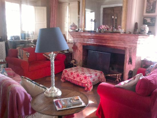 Finca Buen Vino: Sitting room. Pre Dinner drinks in here if its chilly.