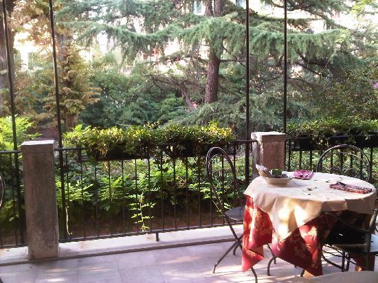 Ca' San Rocco: colazione in terrazza