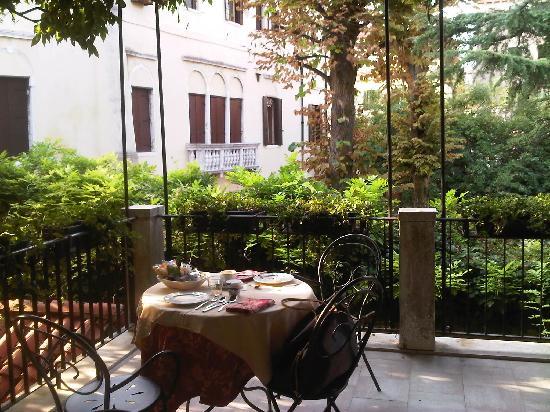 Ca' San Rocco: terrazza