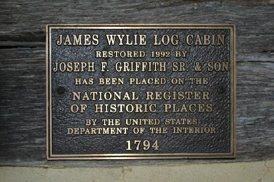 The James Wylie House: About the cabin