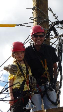 Royal Gorge Zip Line Tours: max and daddy