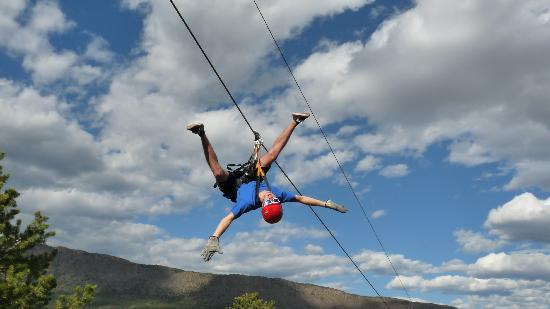 Royal Gorge Zip Line Tours : my son chase