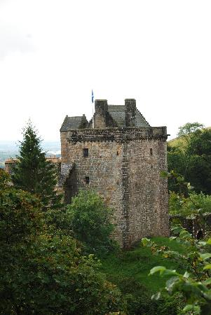 Castle Campbell: View from the glen