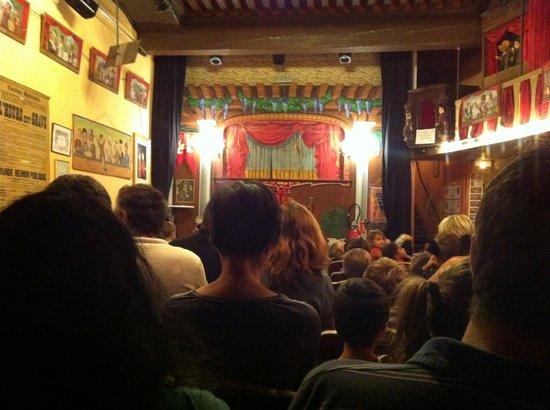 Théâtre la Maison de Guignol : vue de la scène