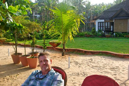 Palm Tree Heritage: enjoying the view