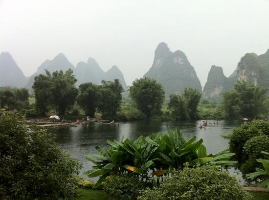 หยางซั่ว เมาเท่น รีทรีท: the view from our balcony