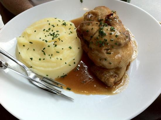 Au Vieux Colombier : roast chicken