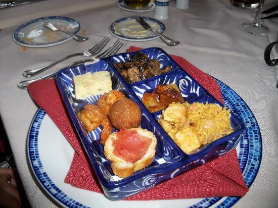 Barcelo Maya Tropical: Spanish restaurant appetizer