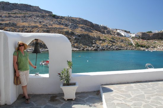 Krana Apartments:                                     Sunrise Over Lindos
