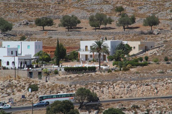 Krana Apartments:                                     Krana  Apartments from the Acropolis