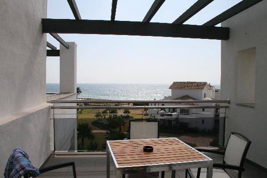 โรงแรมเฟอร์เต้ เอสเทโปน่า: terraza