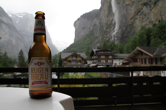 Hotel Staubbach: Patio