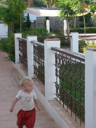 Villa Cortijo Andalus: Im Innenhof