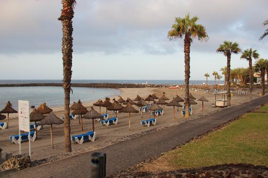 Cleopatra Palace Hotel : Beach right out front