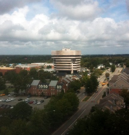 View of Hampton City Hall from the vantage of a better-looking building.