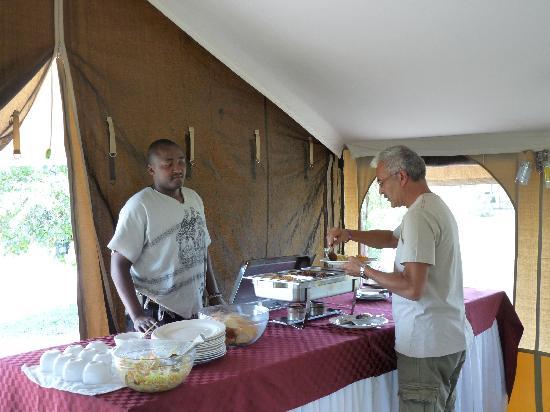 Elangata Olerai Luxury Tented Camp: Lunch