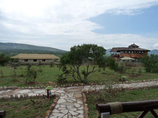 Elangata Olerai Luxury Tented Camp: Uitzichttoren met bar